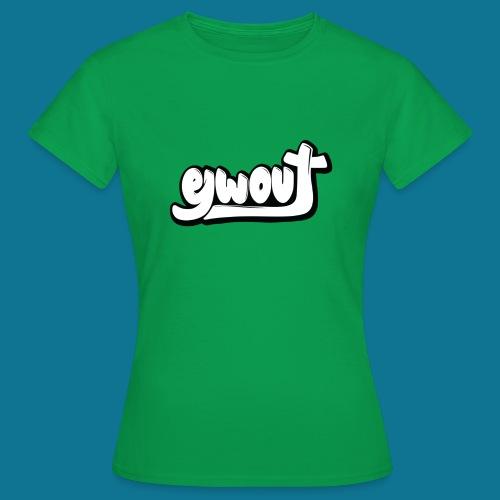 Premium T-shirt vrouw (zwart wit) - Vrouwen T-shirt