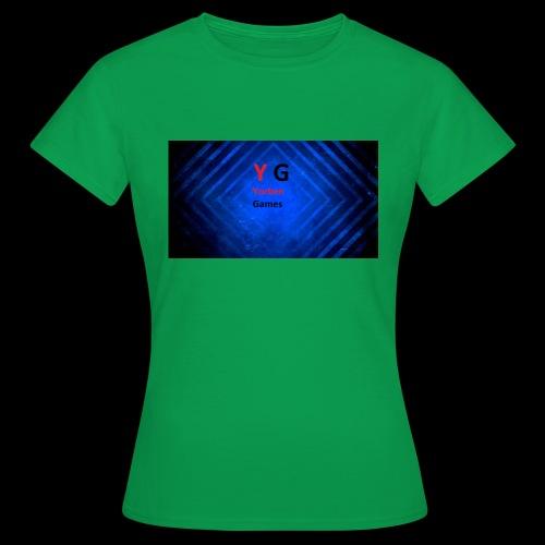 alles met de logo van yorben games - Vrouwen T-shirt