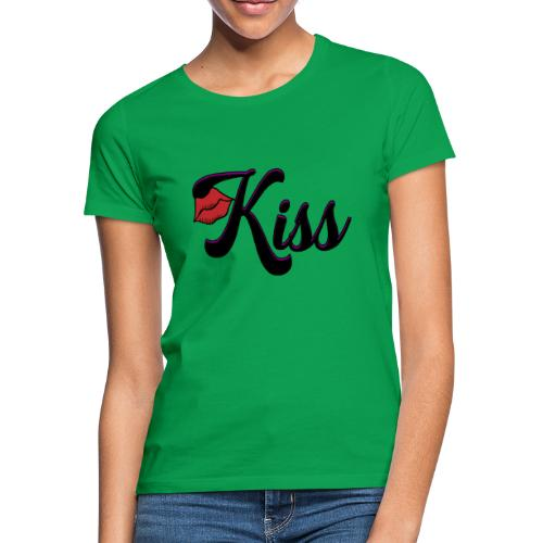 kiss - Vrouwen T-shirt