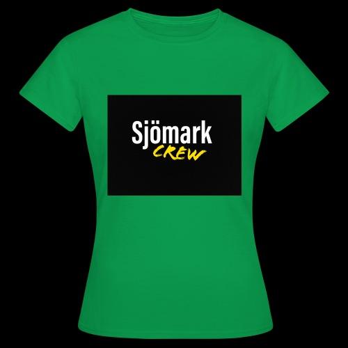 Loggo huvtröja - T-shirt dam