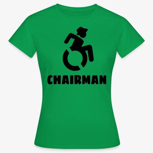 Rolstoel man 001 - Vrouwen T-shirt