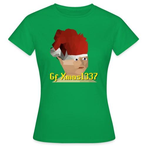 Gnomechild Christmas - T-skjorte for kvinner