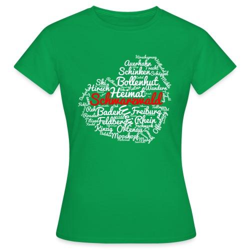Schwarzwald Herz - Frauen T-Shirt