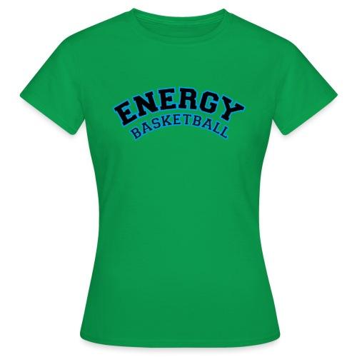 street wear logo nero energy basketball - Maglietta da donna