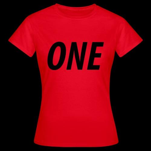 WEAREONE x LETTERS - Vrouwen T-shirt