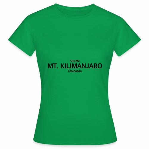 MT. KILIMANJARO - Camiseta mujer