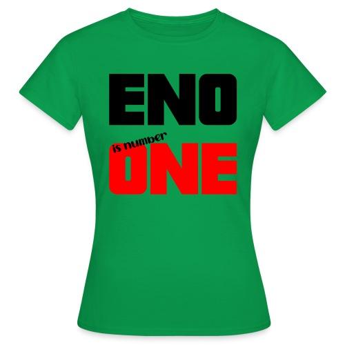 eno is number one - retro / musta - Naisten t-paita