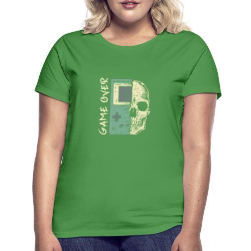Game over Gaming Spruch Outfit für Zocker Gamer - Frauen T-Shirt