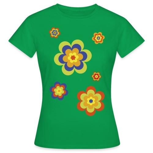limited edition 3a flower power - Frauen T-Shirt