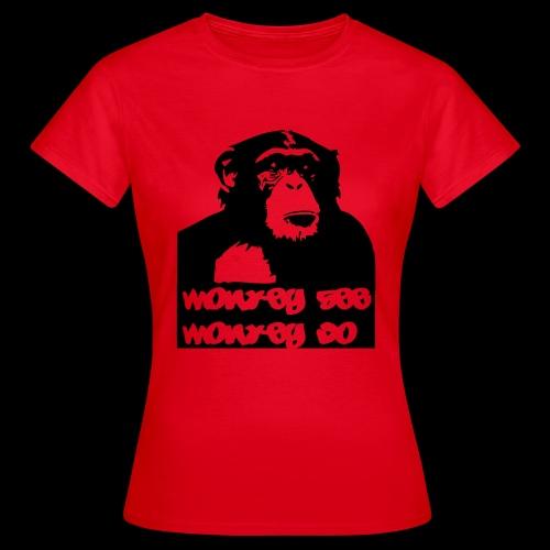 chimp - Frauen T-Shirt