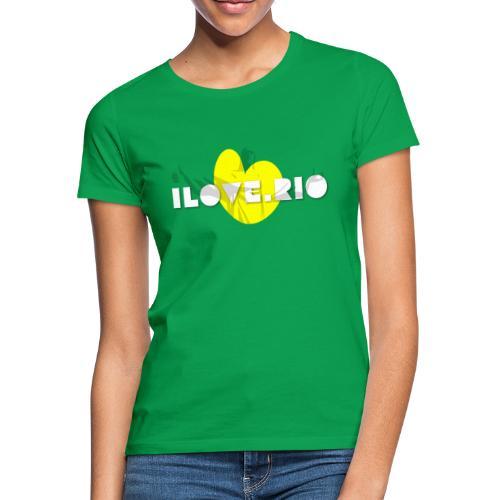 I LOVE RIO, THUMBS UP! - Women's T-Shirt