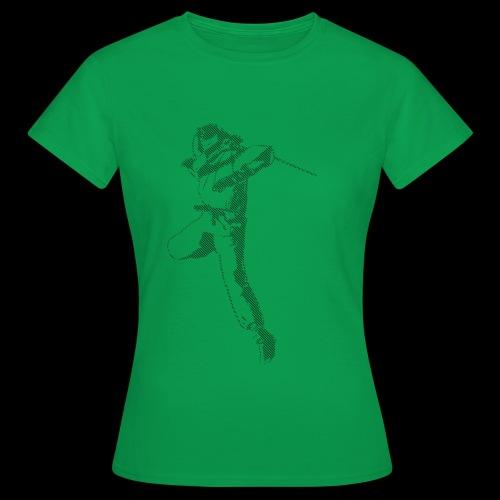 canniste lignes noir - T-shirt Femme