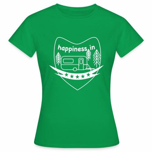 Happy Camper - Frauen T-Shirt
