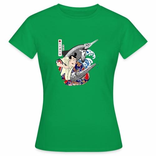 Ichthyosaur Samurai - Women's T-Shirt