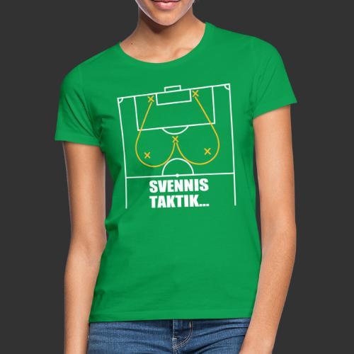Svennis taktik - T-shirt dam