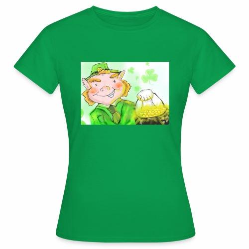 lenny the leprechaun - Women's T-Shirt
