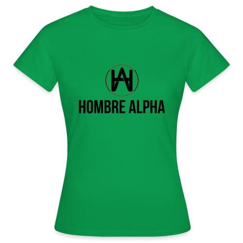 Hombre Alpha Logo - Camiseta mujer
