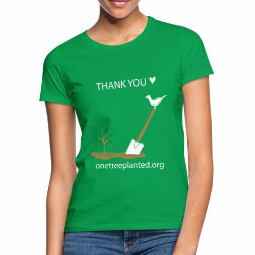 thank you <3 - Women's T-Shirt