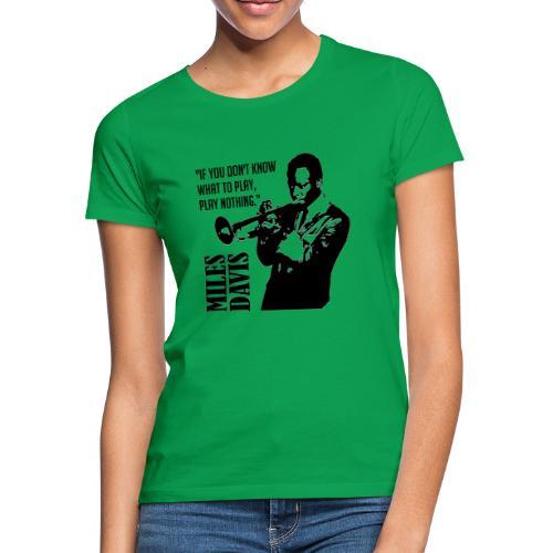 Miles Davis - T-shirt Femme