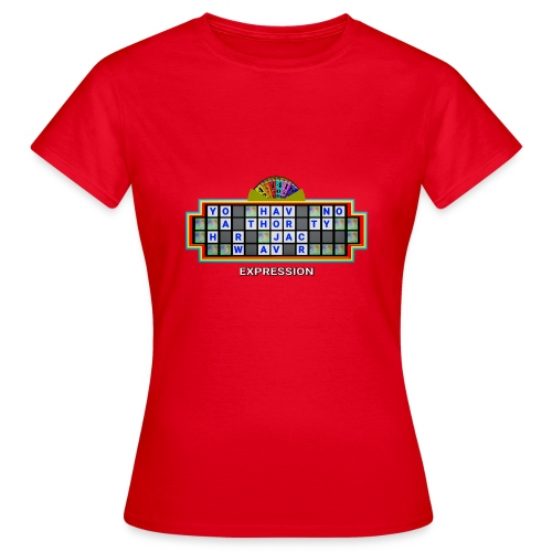 Jackie Weaver Wheel of Fortune - Women's T-Shirt