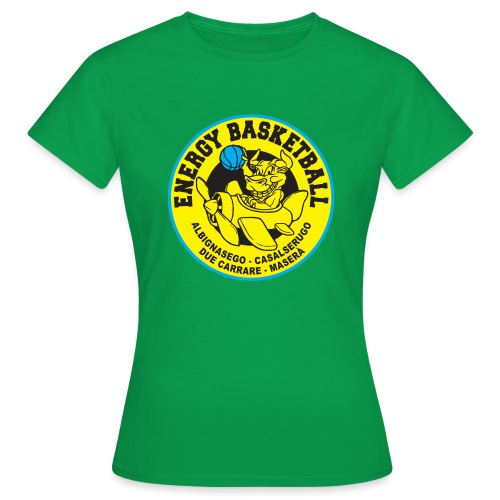 street wear energy basketball merchandising - Maglietta da donna