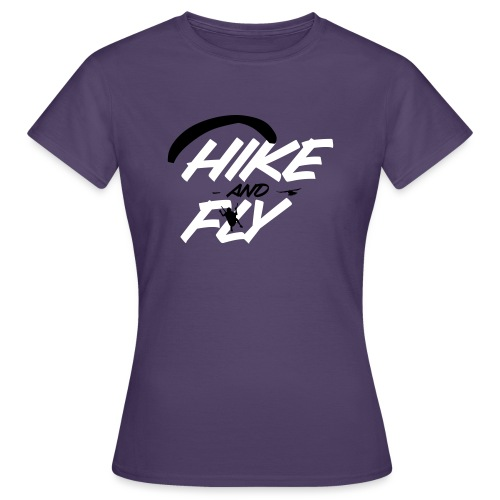 Hike and Fly Paragliding - Frauen T-Shirt