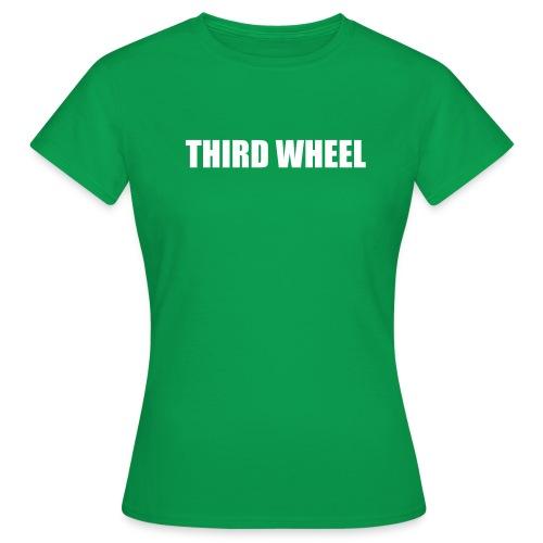 thirdwheel - Women's T-Shirt