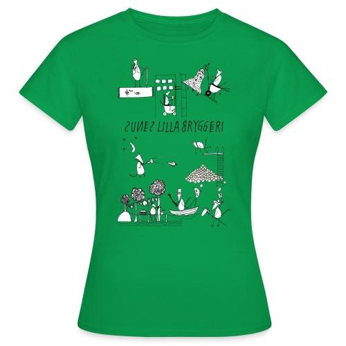 Sunes etiketter - T-shirt dam