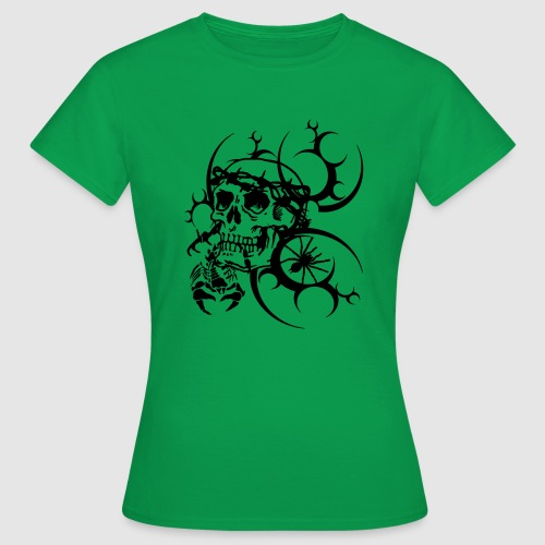 Tattoo Totenkopf - Frauen T-Shirt
