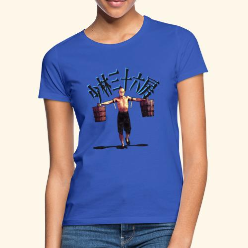 Gordon Liu as San Te - Warrior Monk - Vrouwen T-shirt