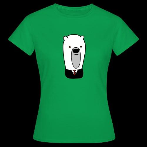 officel_polarbear_shop_logo - Dame-T-shirt