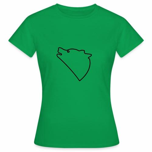 Wolf baul logo - Vrouwen T-shirt
