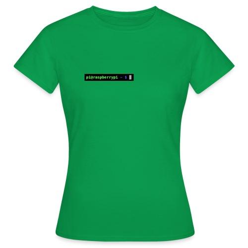 Raspberry Pi prompt - Women's T-Shirt