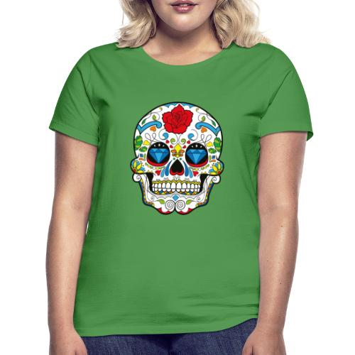 Totenkopf Abstrakt - Frauen T-Shirt