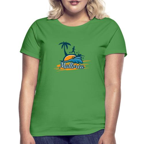 Joggen auf Mallorca - Sport - sportlich - Jogging - Frauen T-Shirt