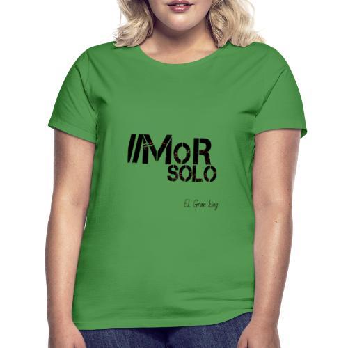 Mor solo El Gran KIng - Camiseta mujer