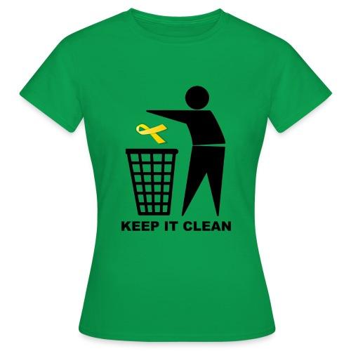 Keep it clean Lazo - Camiseta mujer