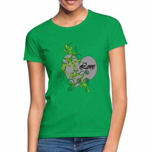 Grey Love - Frauen T-Shirt