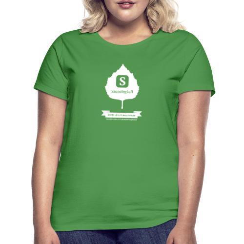 Saunologia.fi - musta - Naisten t-paita