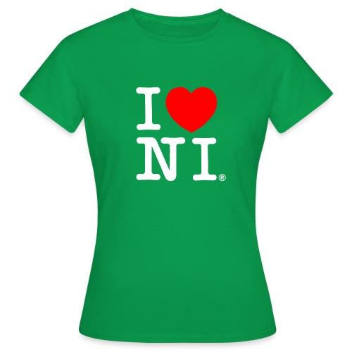 I love NI - Women's T-Shirt