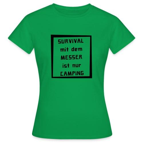 smdm black - Frauen T-Shirt