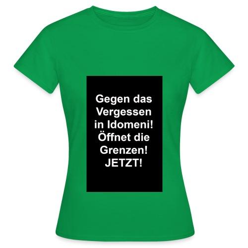 Gegen das Vergessen - Frauen T-Shirt