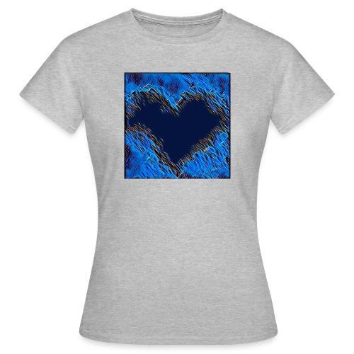 Black hart - Maglietta da donna