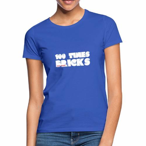 100 TIMES BRICKS retrò - Maglietta da donna