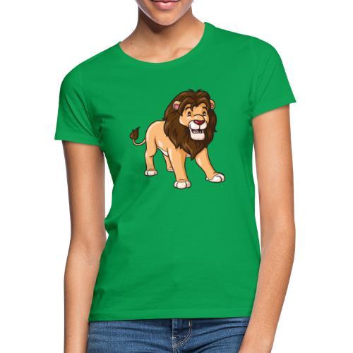 Löwe Comic süß - Frauen T-Shirt