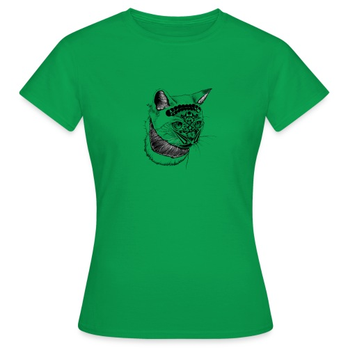 cat katze hanna art - Frauen T-Shirt