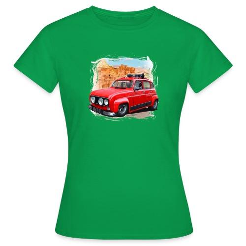 R4 4L prête au départ pour le Raid dans le désert - T-shirt Femme