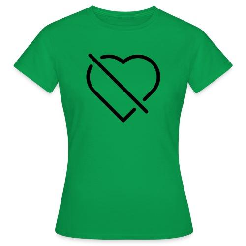 no love - Frauen T-Shirt