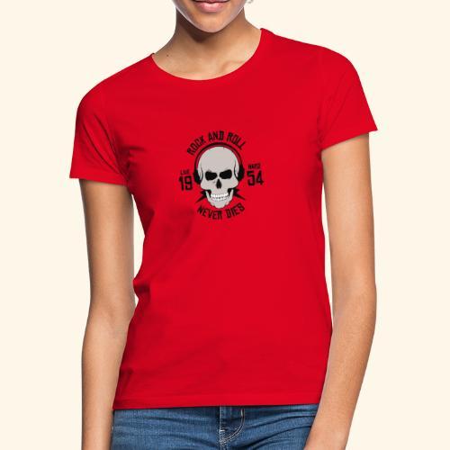 Rock and roll - T-shirt Femme