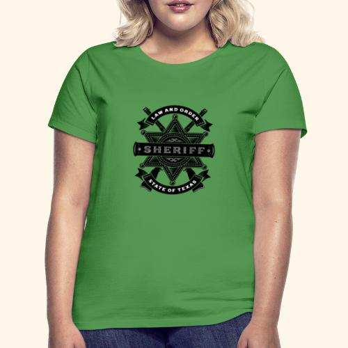Law and order - T-shirt Femme